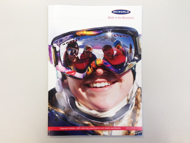 Ski World Front Cover 2014